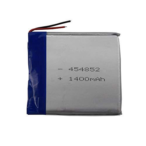 FidgetFidget Battery 3.7V 1400 mAh Polymer Li Lipo for PDA Camera Tablet PC GPS DVD 454852