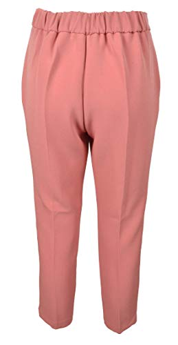 CO005 42 Pantalone Donna Rosa EASY SIZE TWENTY KAOS cod PwqnyS4Xp
