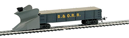 Mehano, SNOW PLOW - B&O - blue, H0 scale from trains