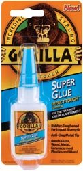 Gorilla Super Glue, 15g Clear - 24 Pack