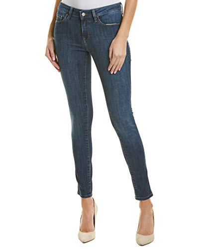 Mavi Jeans Women's Adriana Mid Rise Super Skinny, DEEP Indigo Tribeca, 24/32