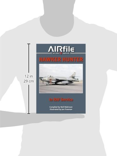Hawker Hunter in RAF Service 1955-1990: Camouflage and Markings (AIRfile)