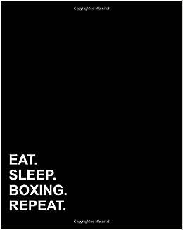 Eat Sleep Boxing Repeat: Dot Grid Journal Bullet Grid ...