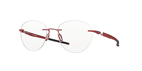 Oakley DRILL PRESS OX5143-514304 Eyeglasses SATIN BRICK RED