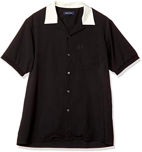 半袖シャツ REVERE COLLAR SHIRT F4549 メンズ