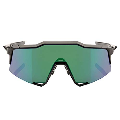 GUO XINFEN Cycling Sports Intelligent Color-Changing Glasses Outdoor Windproof Sunglasses Bicycle Riding Equipment Polarized Color Sports Goggles Bicycle Glasses (Color : Green) ()
