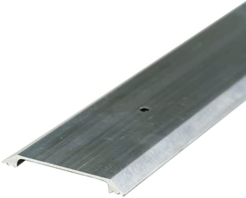 Aluminum 36 in L X 2-1//2 in W X 1//4 in H M-D Building Products 11072 M-D Flat Saddle Threshold 2-1//2 2-1//2