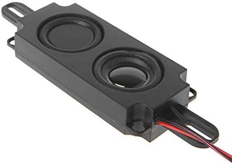 SimpleLifeオーディオスピーカー10045ボックスダブルダイヤフラムTVスピーカー80オーム5Wポータブル(1ペア)