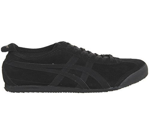Asics Mexico 66 Sneakers, Scarpe da Ginnastica Basse Unisex-Adulto Black Black