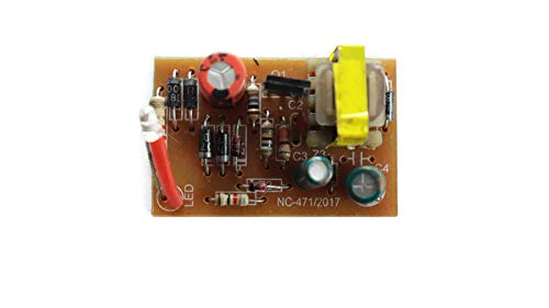 Electronicspices 220V AC to 12V DC SMPS Power Supply Board/PCB Circuit  (Multicolour)