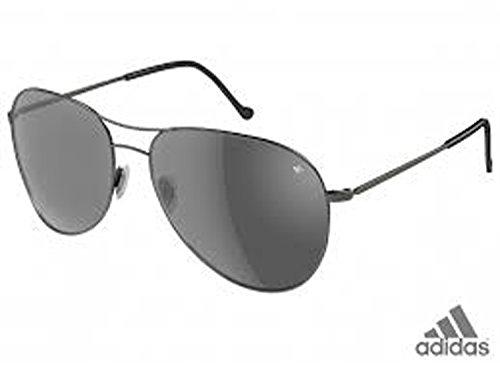 ADIDAS Sunglasses AH09 AH11 AH12 AH16 AH64 AH65 (AH65-6055 LIVERPOOL/Grey Shiny/Dark Grey, one ()