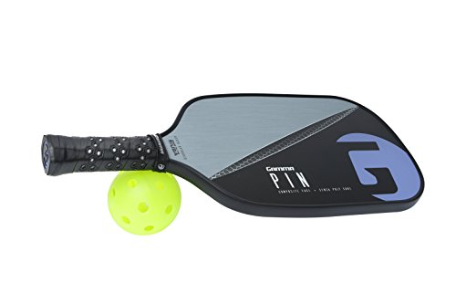 Gamma Pin Elongated Pickleball Paddle: Pickle Ball Paddles for Indoor & Outdoor Play - USAPA Approved Racquet for Adults & Kids - Pink/Blue by Gamma (Image #5)