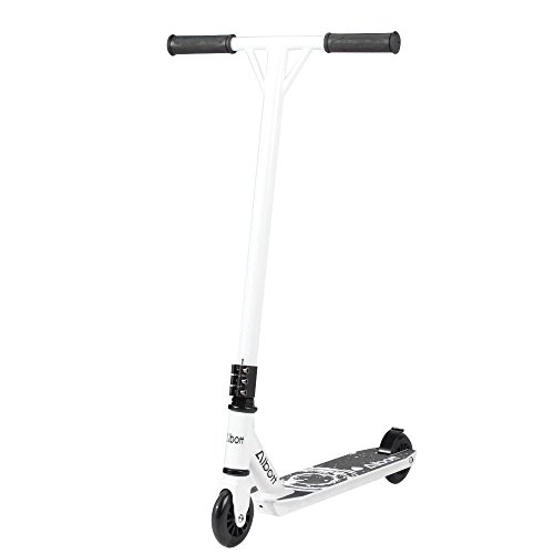 Albott Sports Stunt Scooter for Kids Adult Tricks Pro Stunt Scooter 360 Degree Street Fixed Bar for Child Kids Adult