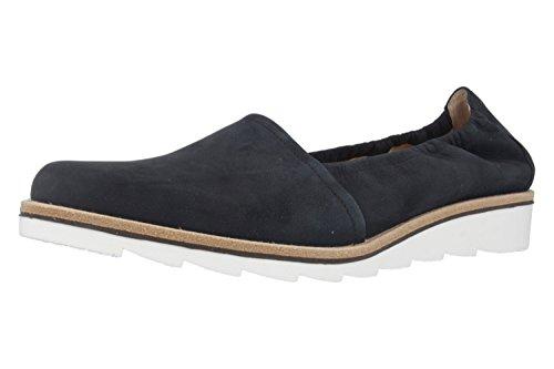 Gabor Damepantoffel - Blauwe Schoenen In De Maten Boven Nachtblauw