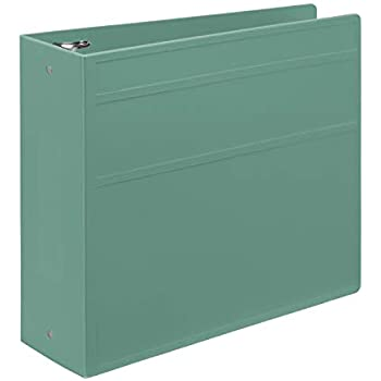 Carstens 4- Inch Heavy Duty 3-Ring Binder - Side Opening, Mint