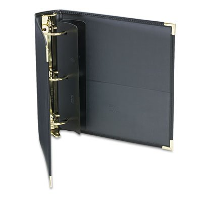 Classic Collection Ring Binder Portfolio, 11 x 8 1/2, 2'''' Capacity, Black, Sold as 1 Each