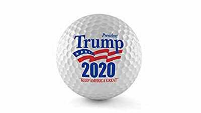 The Best Donald Trump Wilson Ultra Golf Balls, (Single Ball) - United States of America