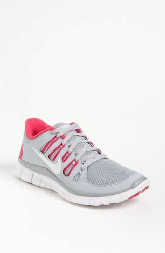 Nike 5.0+ - Womens - Wolf Grey/White/Pink Force