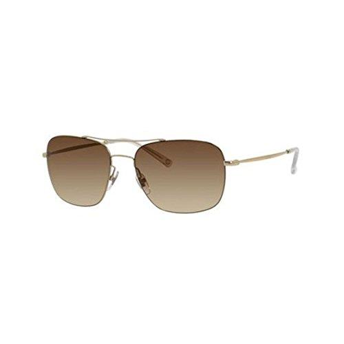Gucci 2262/S Light Gold Sunglasses - Brown Gradient