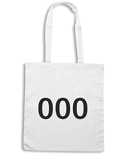 T-Shirtshock - Bolsa para la compra TDM00001 000 Blanco