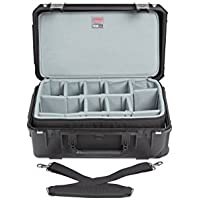 SKB Cases iSeries 3i-2011-7 Case with Think Tank Designed Zippered, Black (3i-2011-7DZ)