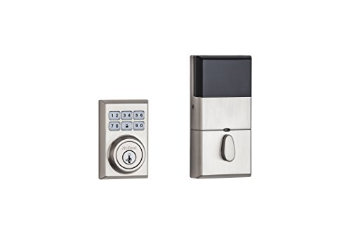 Kwikset 99100-080 SmartCode 910 Z-Wave Plus Contemporary Deadbolt, Satin Nickel -