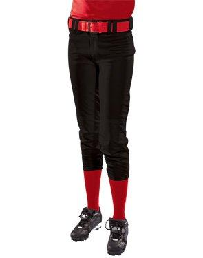 Women's Low Rise Polyester Pant (Womens Racerback Softball Jersey)