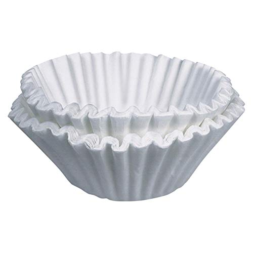 - Tupkee Coffee Filters 8-12 Cups, Basket Style, White Paper, Chlorine Free Coffee Filter, 700 Count