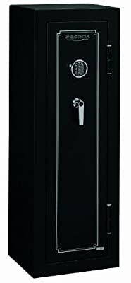 Stack-On FS-8-MB-E 8-Gun Fire Resistant Safe with Electronic Lock, Matte Black