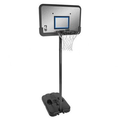 61312 Huffy Insta-Hoop Height-Adjustable 44in Backboard Portable Basketball System