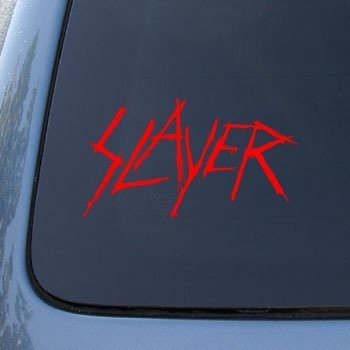 Slayer vinyl decal sticker a1370 vinyl color red