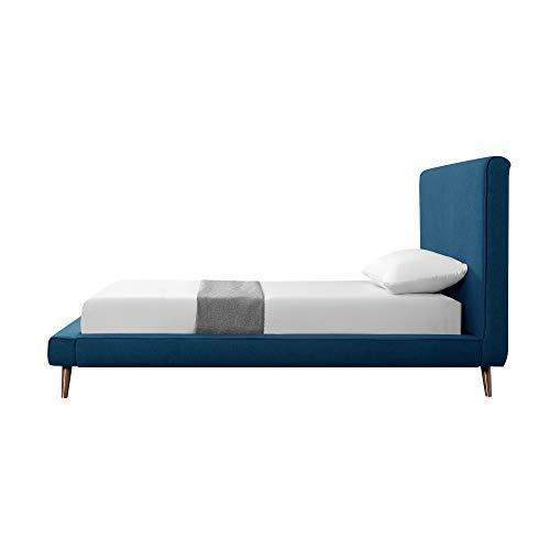 Amazon.com: Loft Lyfe Amoret Plataforma de cama – Lino ...
