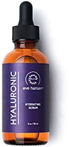 Eve Hansen Hyaluronic Acid Serum (2 oz) - Ultimate Hydrating Serum, Face Moisturizer, and Natural Plumper | Cruelty Free, Vegan Anti Aging Serum