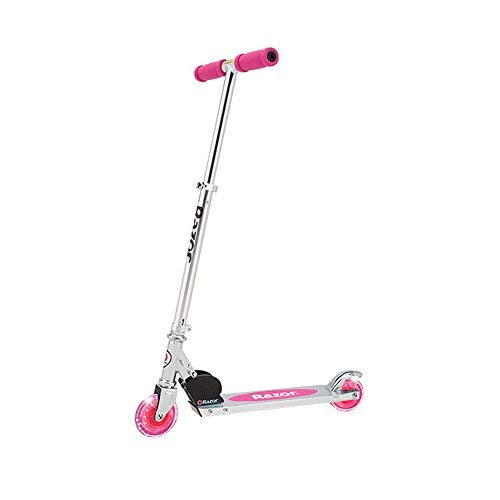 Razor A Lighted Wheel Kick Scooter - Pink by Razor
