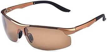 Driving TR90 Aluminum Magnesium Polarized square Sunglasses for male -sss