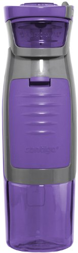 Contigo AUTOSEAL Kangaroo Water Bottle with Storage Compartment, 24-Ounce, - Kangaroo Proof