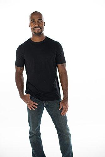ONNO Men's Bamboo T-Shirt XL Black