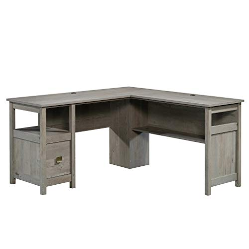Sauder 422878 Cannery Bridge L-Desk, Mystic Oak Finish