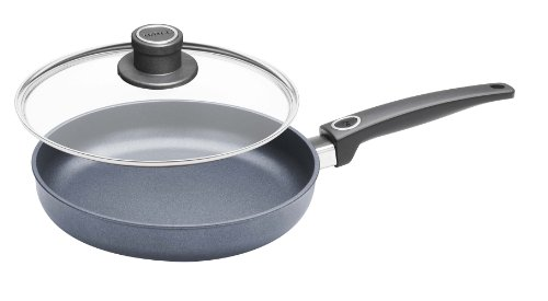 Woll Diamond Plus/Diamond Lite Fry Pan with Lid, 9.5-Inch Cast Aluminum Insert