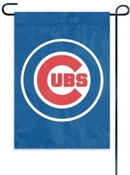 Chicago Cubs 15 x 10.5 Inch Window/Garden Flag