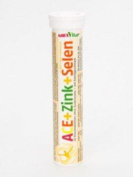 Amosvital ACE + Zink + Selen - Brausetabletten