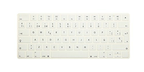 New Eu Spanish Version Wireless Keyboard Silicone Keyboar...