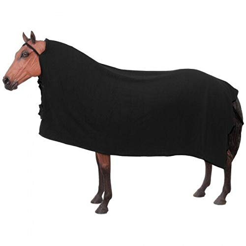 Tough 1 Softfleece Traditional Cooler Horse Tack Equine 33-469(Black)