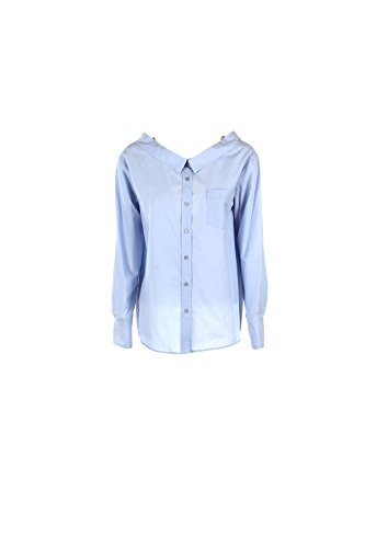 Camicia Donna Pinko 40 Celeste Lonigo Primavera Estate 2017