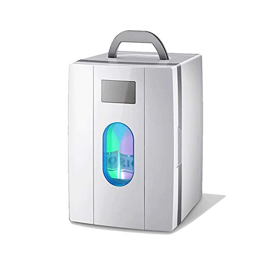 DEFfd The Car Home Dual-use Refrigerator is 10L, Suitable for Storing Drinks, Fruits, Meat, Food, Etc. 220V AC / 12V DC