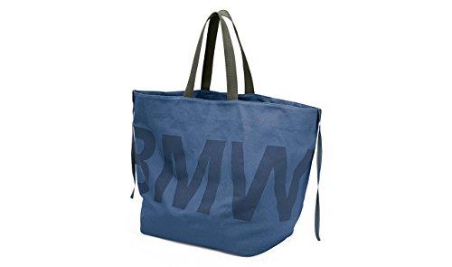 Algodón De Mano Bmw 80222446012 Bolsa Bolso Lona Sujeción Active Azul Correas wI0gq