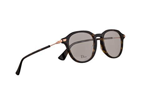 Christian Dior Dioressence17 Eyeglasses 47-19-145 Dark Havana w/Demo Clear Lens 086 Essence17