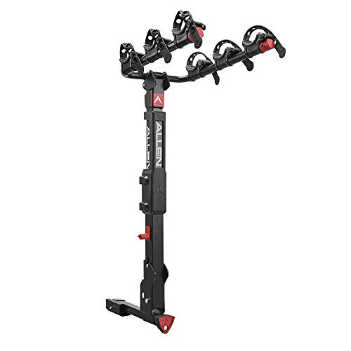 Premier Locking Quick Release 3-Bike Carrier for 2 in. and 1 1/4 in. hitch