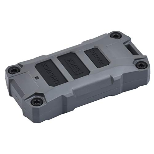 AJT DESIGN Injection Fob Case (Jeep Wrangler JL) Gray