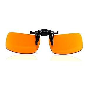 Dr. S Blue Light Blocking Computer Glasses, Sunglasses, 99% Blue Light Blocking, Anti-glare, UV protection,Radiation Protection, Gaming, Better Sleep, Reduce Eyestrain designed by an Eye Doctor (Clip)